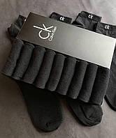 Набір коротких чоловічих шкарпеток Calvin Klein 9 пар чорних в подарунковій упаковці!, фото 3