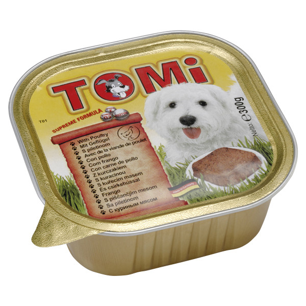 TOMi poultry ПТИЦЯ консерви для собак, паштет