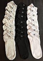 Набір коротких чоловічих шкарпеток Calvin Klein 9 пар сірих в подарунковій упаковці!, фото 5