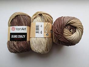 Пряжа Джинс Крейзи ЯрнАрт Jeans Crazy YarnArt (RAM) цвет 8201