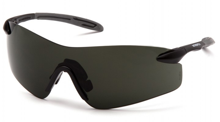 Спортивні окуляри Pyramex INTREPID-2 Green Smoke