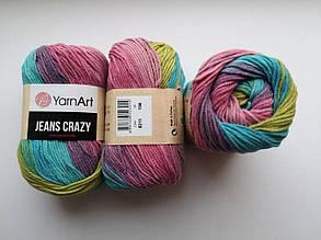 Пряжа Джинс Крейзи ЯрнАрт Jeans Crazy YarnArt (RAM) цвет 8211