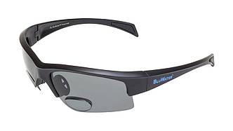 Біфокальні окуляри з поляризацією BluWater BIFOCAL 2 Gray +2,5 дптр