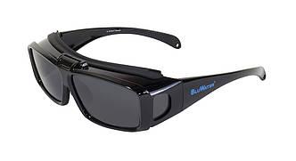 Накладні окуляри з поляризацією BluWater FLIP-IT Gray