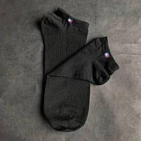 Набор коротких мужских носков TOMMY HILFIGER 9 пар черных в подарочной упаковке! Реплика!, фото 3