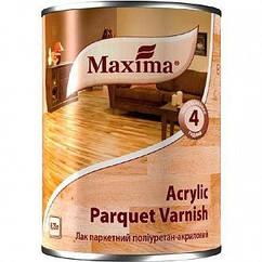 Лак Maxima паркетний Acrilic parquet varnish шовковисто-матовий 0,75 л