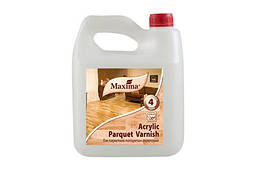 Лак Maxima паркетний Acrilic parquet varnish глянцевий 2,5 л