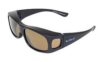 Накладні окуляри з поляризацією BluWater LIDZ Brown
