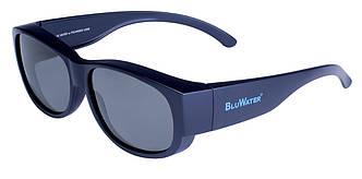 Накладні окуляри з поляризацією BluWater OVERBOARD Gray