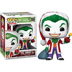 Фигурка Funko Pop Фанко Поп Супер героиДжокер Super HeroesHolidays Joker 10 см SНJ 358