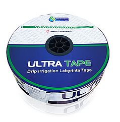 Капельная лента щелевая Ultra Tape 30см 6mill 1,3 л/ч (бухта 1000м)