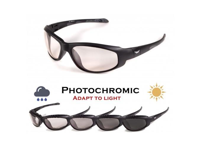 Фотохромные очки хамелеоны Global Vision Eyewear HERCULES 2 PLUS Clear