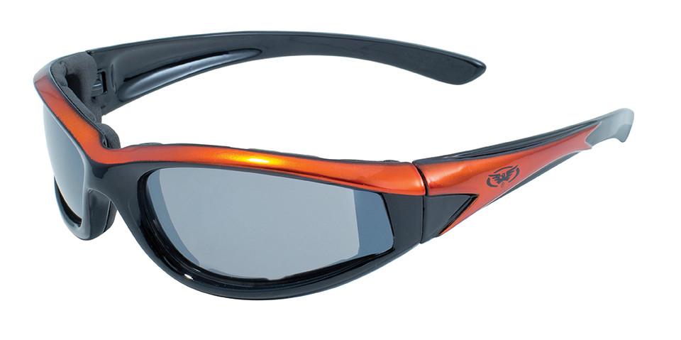 Спортивні окуляри Global Vision Eyewear HAWKEYE ORANGE Flash Mirror
