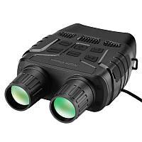 Бинокль ночного видения ПНВ с дальностью до 250 метров, 4Х кратным приближением и видео/фото записью Boblov