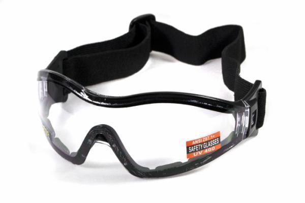Окуляри для стрибків з парашутом Global Vision Eyewear Z-33 Clear