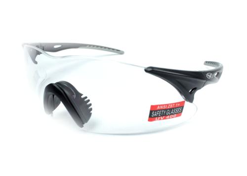 Спортивные очки Global Vision Eyewear TRANSPORT BLACK-GRAY Clear