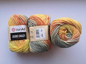 Пряжа Джинс Крейзи ЯрнАрт Jeans Crazy YarnArt (RAM) цвет 8210