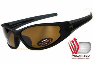 Поляризационные очки BluWater DAYTONA 4 Brown
