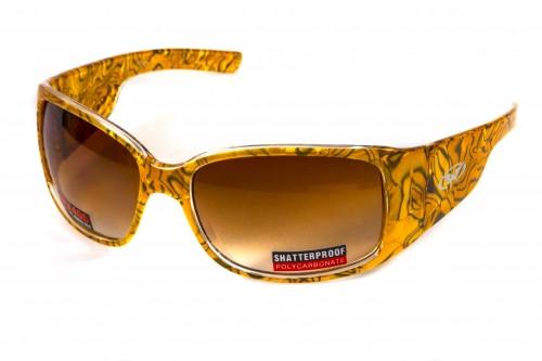 Жіночі сонцезахисні окуляри Global Vision Eyewear JAZZ Brown