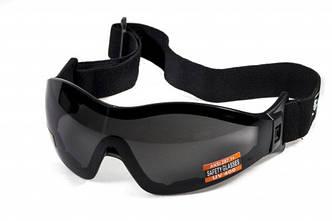 Окуляри для стрибків з парашутом Global Vision Eyewear Z-33 Smoke