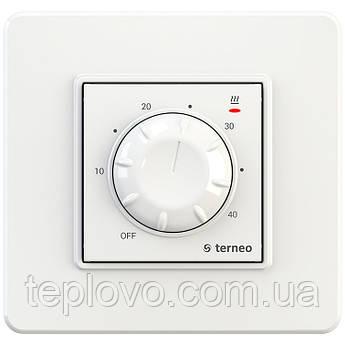 Терморегулятор механический terneo rtp (белый) для теплого пола