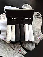 Набор коротких мужских носков TOMMY HILFIGER 6 пар в подарочной упаковке! Реплика!, фото 4