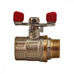 Кран шаровий Econom вода 3/4вн.*20м.п.