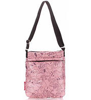 Сумка-планшет женская стёганая POOLPARTY с кошками розовая, фото 1