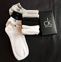 Набор коротких мужских носков Calvin Klein 6 пар в подарочной упаковке!, фото 7