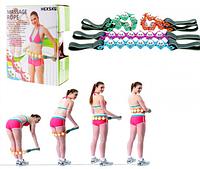 Масажер-стрічка роликовий Massage Rope (WN-18) (48)