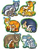 Дитяча розвиваюча гра Мами і малюки 81114 лісові тварини, фото 2