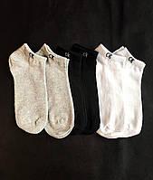 Набір укорочених чоловічих шкарпеток, бавовняні Calvin Klein репліка (30 пар) у фірмовій коробочці!, фото 8