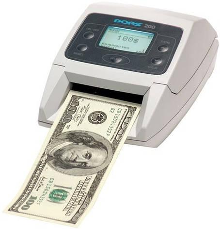DORS 200 Автоматический детектор валют, фото 2