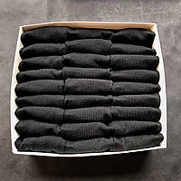 Набор мужских носков, укороченные Calvin Klein реплика (30 пар черных) в фирменной коробочке!, фото 3