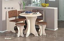 Кухонный уголок Боярин (комплект с круглым столом)