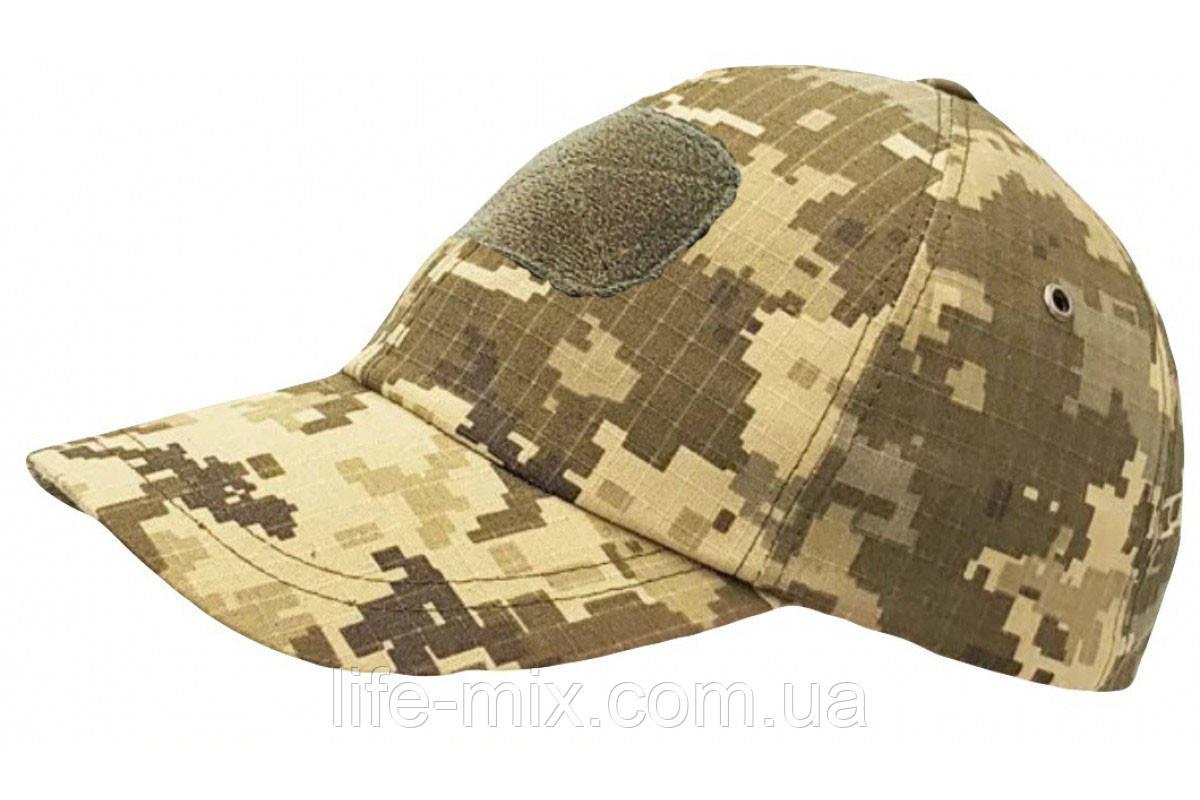 Бейсболка кепка  ВСУ (Пиксель) липучка