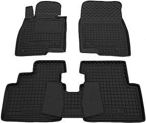 Полиуретановые (автогум) коврики в салон Mazda / Мазда 3 (2014+)