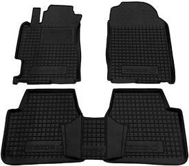 Полиуретановые (автогум) коврики в салон Mazda / Мазда 6 2002-2007
