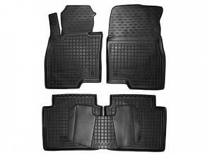 Полиуретановые (автогум) коврики в салон Mazda / Мазда 6 2013+
