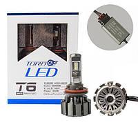 Комплект автомобільних LED ламп T6 H11 TurboLed
