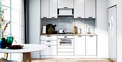"""Кухня """" Vintage"""" белый мат MiroMark  2 м."""