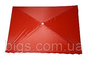 Зонт пляжный Торговый 3х4 с серебряным напылением защитой от УФ