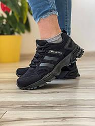 Кросівки жіночі 18573, Adidas Marathon Tr 26, чорні, [ 37 38 39 40 ] р. 37-24,0 див.