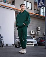 Спортивный костюм Base Oversize Emerald зеленый (худи и штаны)
