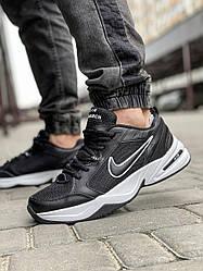 Кросівки чоловічі 18514, Nike Air Monarch, чорні, [ 41 43 44 46 ] р. 41-26,5 див.