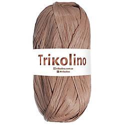 Рафия для вязания Trikolino Air 50 м, Браун