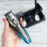 Оригинал! Машинка для стрижки, триммер для бороды и ушей, носа (11 в 1) Gemmy GM-562, набор, бритва
