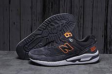 Кросівки чоловічі 18043, New Balance 530, темно-сірі, [ 45 46 ] р. 45-29,0 див.