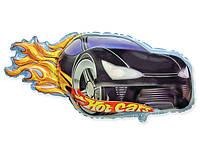 "Шар фольга Гонка (Hot Cars) мини. Размер: 21cm X 40cm. Пр-во ""FlexMetal"" (Испания)"