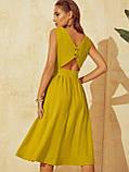 Розкльошене  плаття відрізне по талі ЛІТО, фото 5